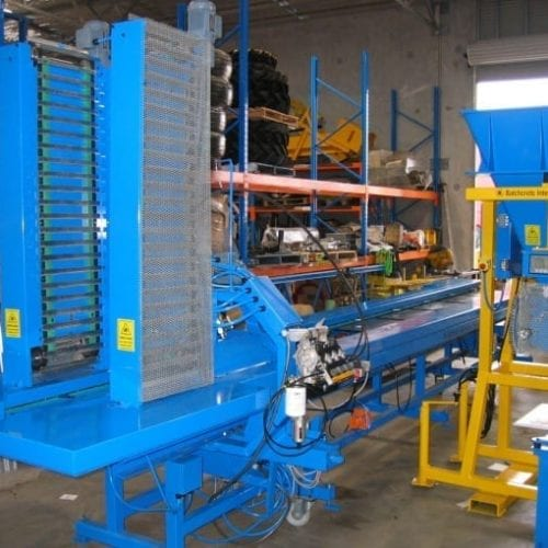 Batchcrete's Automated Mould Feeding Line