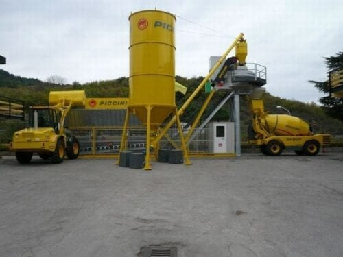 Cement Storage and Dispensing